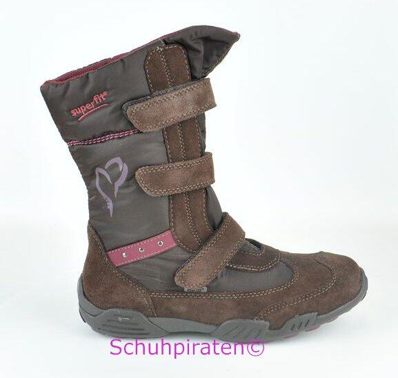 Goretex BraunGr39 Kinder Winterstiefel 40 Superfit DEWIH29