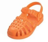Playshoes Badesandale / Beachsandale in orange, Gr. 26/27