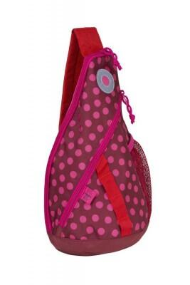 Lässig Kinder Mini Sling Bag Dottle Red