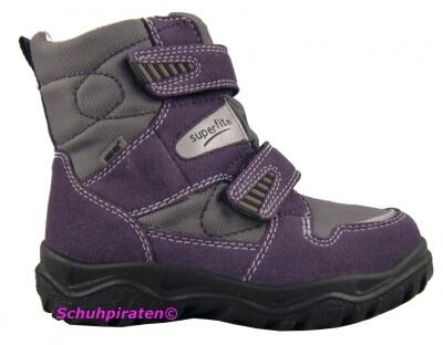 Superfit Goretex Winterstiefel gefüttert in lila, Gr. 33