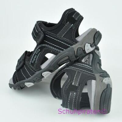 Superfit Sandale in schwarz, Gr. 36-40