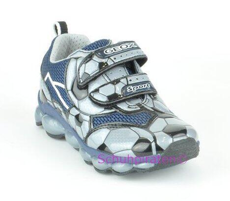 new product 9ea8a 08aab Geox Sport Halbschuhe Blinkfunktion blau, Gr. 32