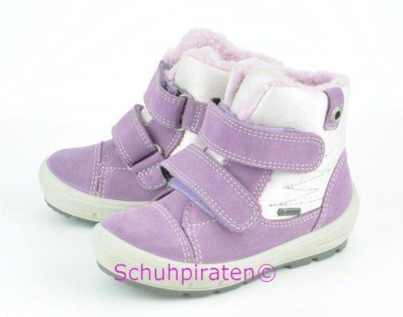 neue Version beliebte Marke hohe Qualitätsgarantie Superfit Goretex Winterstiefel lila/weiß, Gr. 19+21+22+23+24