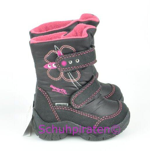 sneakers for cheap f34df 8761d Superfit Goretex Winterstiefel schwarz/pink, Gr. 19-20 + 23 + 28