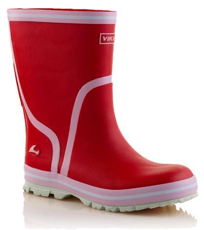 Viking Gummistiefel in rot, Gr. 27-28 + 31 + 33