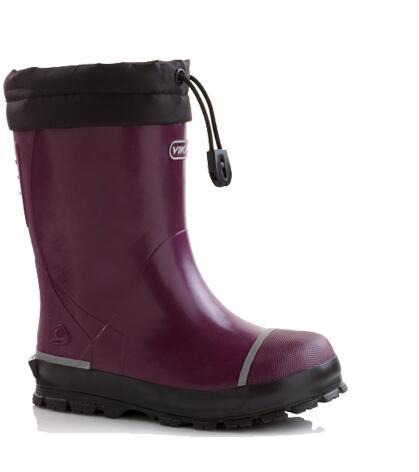 separation shoes 79074 c81c6 Viking Gummistiefel gefüttert in plum, Gr. 29 + 33-34 + 36